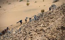 Una dura maratón en Marruecos