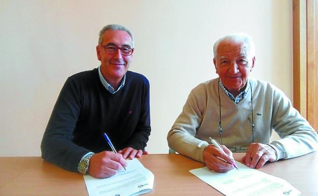 Aita Menni y Nagusilan firman un convenio para ayudar a mayores solos o vulnerables