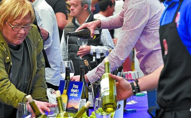 Mañana, feria del vino blanco en el Triángulo
