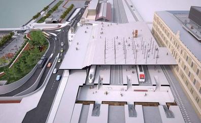 El pasadizo de Egia se convierte en plaza con la nueva estación