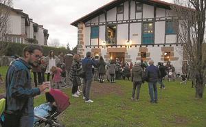 Gran fiesta en el caserío Katxola