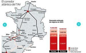 El TAV enlazará las capitales con trenes cada 30 minutos y billetes a ocho euros