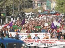 La protesta de los pensionistas arrecia en plena campaña para que los partidos no les olviden