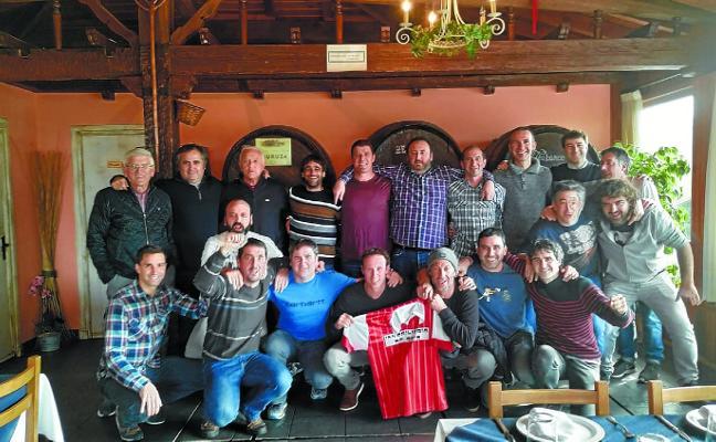 Reencuentro de los jugadores de Antoniano KE