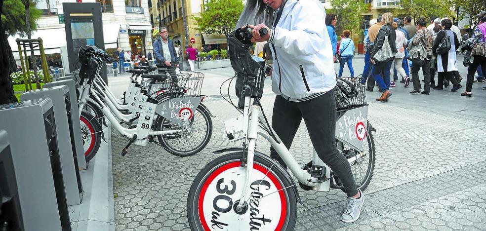 El sistema de alquiler público de bicis cobrará desde el primer minuto de uso para ser viable