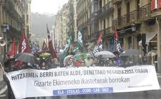 Gipuzkoa suma este año 380 días de huelga en los cuatro grandes conflictos