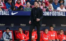 Simeone: «Es difícil salir campeón en el Atlético pero se disfruta mucho más»