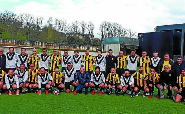 Buen papel de los veteranos del Real Unión en la Liga de la Zona Norte