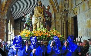 La procesión de La Pasión recorrerá hoy Legazpi con once antiquísimas imágenes