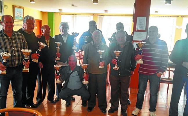 Los jubilados de Trintxerpe finalizaron el torneo de juegos