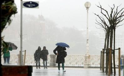 Aviso amarillo por galerna y precipitaciones intensas para este lunes