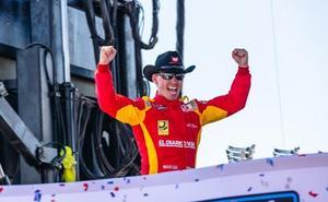 Ander Vilariño vence de nuevo en la Euro NASCAR de Valencia