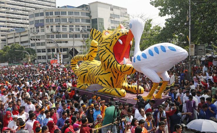 Año nuevo en Bangladesh