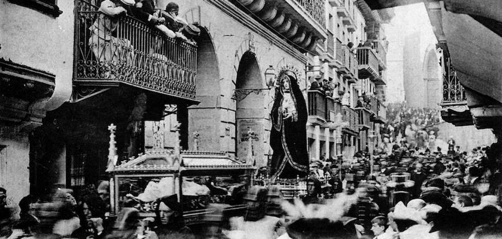 Hondarribia, 111 años atrás