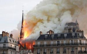 Fotos: El incendio de Notre Dame