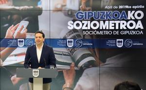 El Sociómetro de la Diputación vuelve a señalar el empleo como principal prioridad de los guipuzcoanos