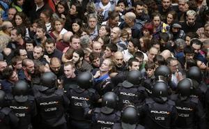 Los antidisturbios heridos irrumpen en el juicio del 'procés'