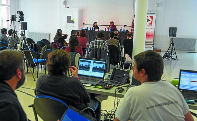 Urnieta se convirtió por un día en la capital del podcast de Euskadi
