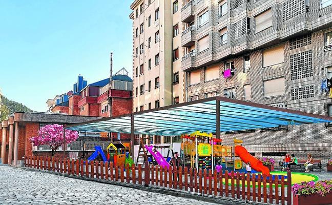 El PNV plantea cubrir los parques infantiles