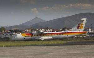 Air Nostrum reprograma los vuelos de Hondarribia cancelados para este miércoles
