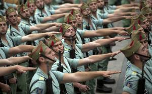 La Legión marcha en la campaña electoral