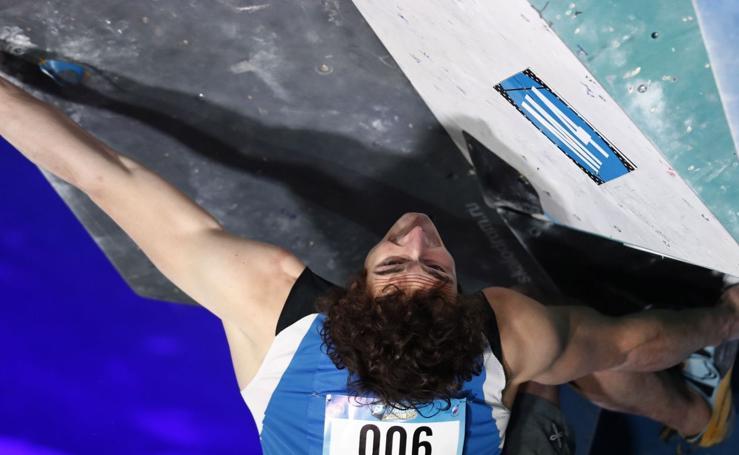 El mundial de escalada, en imágenes