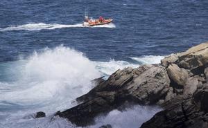 Sin rastro del pescador navarro desaparecido en la zona de rocas de Jaizkibel