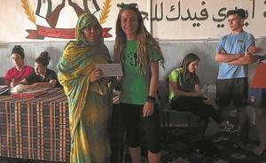 Voluntarios de Darahli acuden a Tinduf para seguir los proyectos