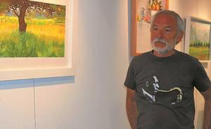 Severiano Iglesias pone punto final a su exposición en el Espacio Mercero