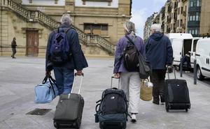 La llegada de turistas a Euskadi subió en marzo un 3,7 % pese al efecto Semana Santa