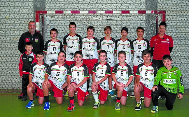 80 jugadores de balonmano al torneo Bizkaia Handball Cup 2019