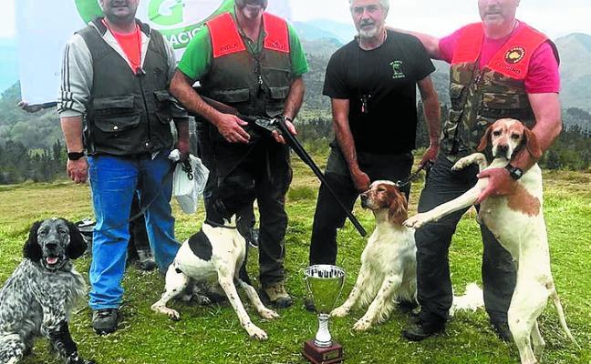 Antxon Sánchez se llevó el Trofeo Sport Guns de caza en la modalidad San Huberto
