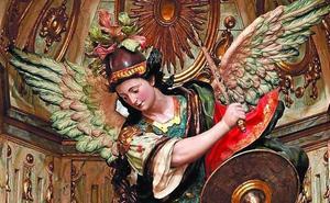 El Arcángel San Miguel de Santa Marina se expone en Lerma hasta noviembre
