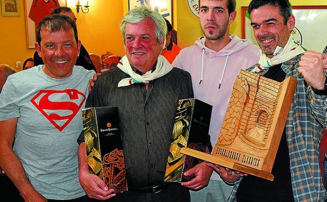 Euskaldarrak se alzó con el primer premio de la XXXIV Muestra Gastronómica