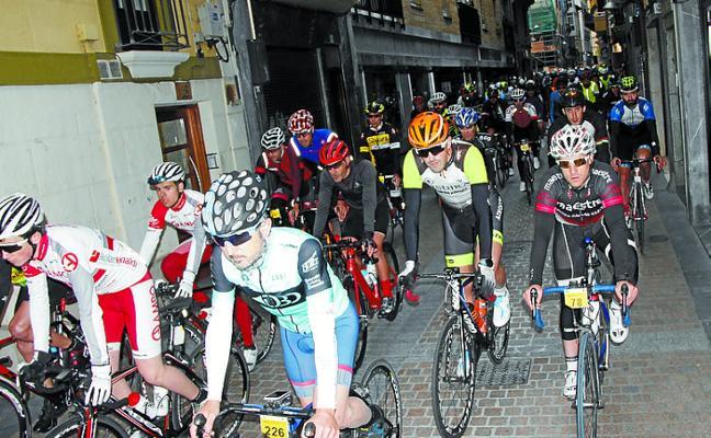 Gran éxito de la prueba cicloturista debarra