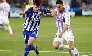La perseverancia del Valladolid arranca un empate ante el Alavés