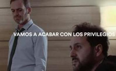 Ciudadanos arremete contra los privilegios del PNV en un vídeo electoral
