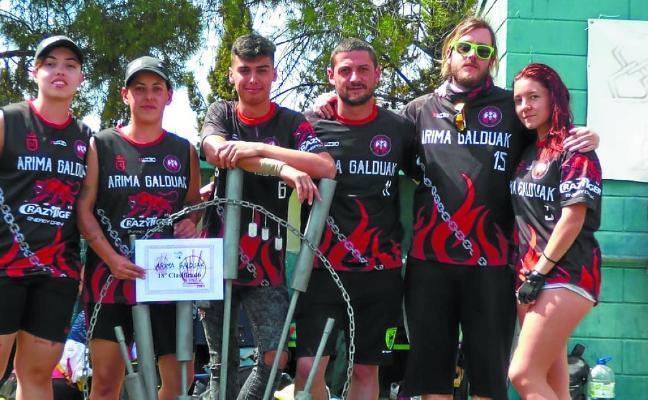 Buen torneo nacional del Arima Galduak en Zaragoza