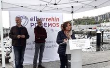 Garrido replica a Ortuzar que los vascos quieren «un Gobierno con Podemos»