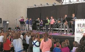 Mayo será el mes de las matriculaciones en la escuela de música Lazkao Txiki