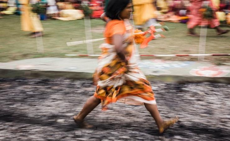 El festival Firewalking, en imágenes
