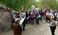 Vía Crucis en Errenteria