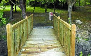 Finalizan las obras del Parque de Huertas municipal