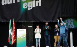Otegi: «Nos jugamos muchas cosas en estas elecciones»