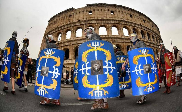 Recreando el nacimiento de Roma en la antigüedad