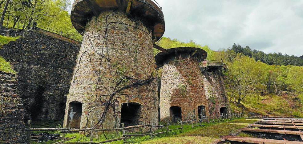 Los trabajos para rehabilitar los tres hornos mineros de Zerain empezarán en 2020