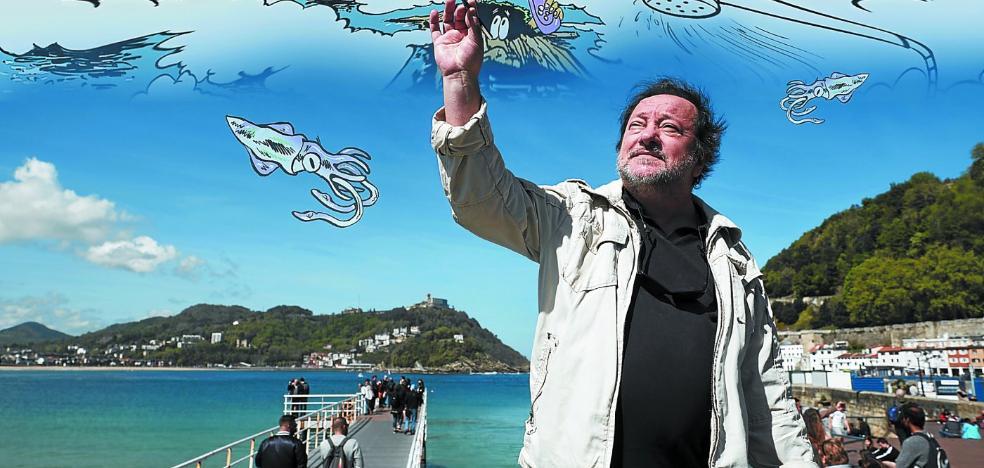 30 años sacando 'Txispas' a la otra cara de Donostia
