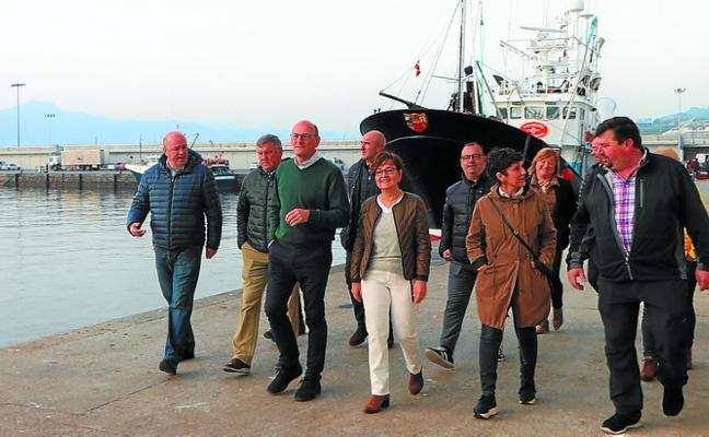 Agirretxea asegura que el PNV es «el único» que ha defendido al sector pesquero vasco