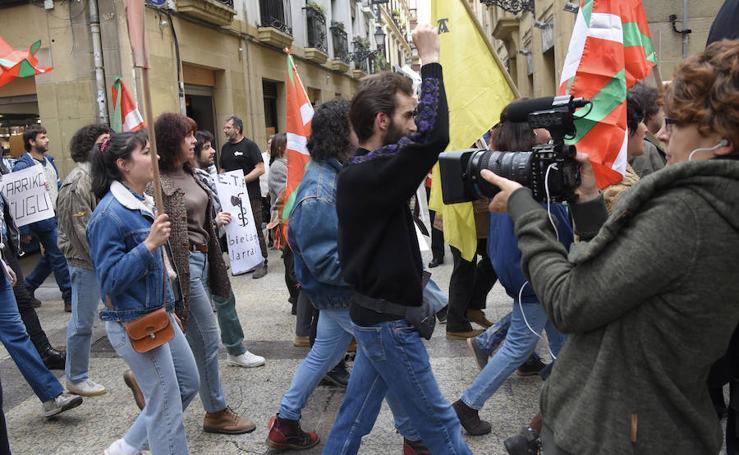 'Patria' se rueda en Donostia