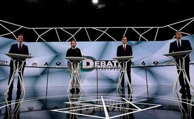 El debate electoral de Atresmedia roza los 9,5 millones de espectadores